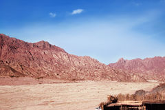 Sinai peninsula in Egypt. Royalty Free Stock Photo