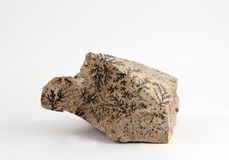 Sinai rock with filigree pattern Stock Image