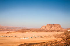 Sinai's desert Stock Photo
