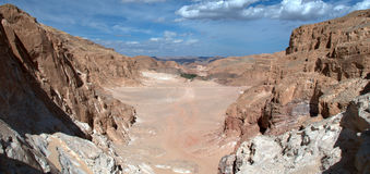 Sinai-Wüste Lizenzfreies Stockbild