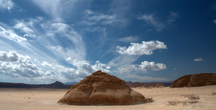 Sinai Woestijn Royalty-vrije Stock Afbeelding