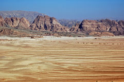 Sinai Woestijn. Royalty-vrije Stock Afbeeldingen