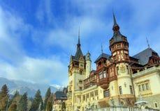 sinaia της Ρουμανίας κάστρων peles Στοκ Εικόνα