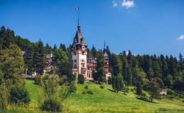 sinaia Румынии peles замока Данный свои историческое и художнический Стоковые Фотографии RF