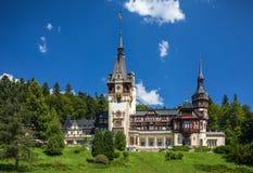 sinaia Румынии peles замока Данный свои историческое и художнический Стоковые Изображения RF