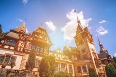sinaia Румынии peles замока Данный свои историческое и художнический Стоковая Фотография RF