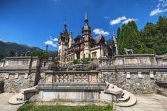 sinaia Румынии peles замока Данный свои историческое и художнический Стоковые Изображения