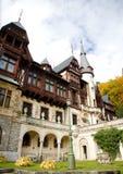 sinaia Румынии peles замока Стоковое Изображение RF