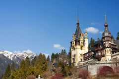 sinaia Румынии peles замока Стоковые Фото