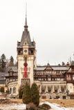 sinaia Румынии peles замока Стоковое Изображение