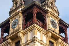 sinaia Румынии peles замока Overcast на красивый день осени Стоковая Фотография