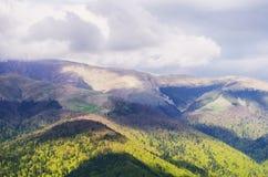 Sinaia, Румыния, прикарпатские горы Стоковое Изображение RF