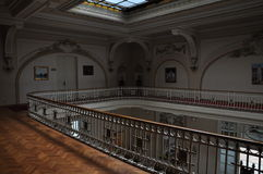 Sinaia Casino, interior. Royalty Free Stock Photos