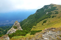 Sinaia, Cota 2000,  Romania. Beautiful mountain landscape in Transylvania, Sinaia, Cota 2000,  Romania Stock Photography