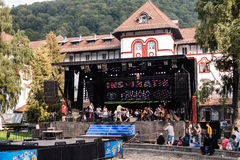 Sinaia Forever Festival - September 2016 Royalty Free Stock Image