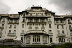 Hotel Palace, Sinaia, Romania Royalty Free Stock Photography