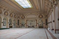 Sinaia kasyno, wnętrze Zdjęcie Royalty Free