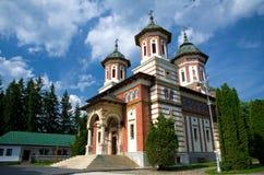 Sinaia Monastery. The Great Church of Sinaia Monastery, in Sinaia, Prahova County, Romania. The Great Church was built between 1842-1846 stock images