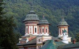 Sinaia Monastery in Carpathian mountains, Romania. Sinaia Monastery in Carpathian mountains, Prahova County, Romania stock images