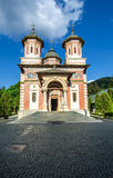 The Sinaia Monastery - front view Royalty Free Stock Images