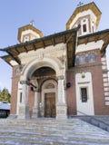 Sinaia Monastery. The Great Church of Sinaia Monastery, in Sinaia, Prahova County, Romania. The Sinaia Monastery was founded by Prince Mihail Cantacuzino in 1695 stock images