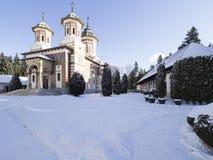 Sinaia Monastery. The Great Church of Sinaia Monastery, in Sinaia, Prahova County, Romania. The Sinaia Monastery was founded by Prince Mihail Cantacuzino in 1695 stock image