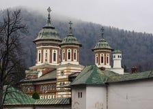 Sinaia Monastery. New church biserica mare, Sinaia Monastery at Prahova Valley, Romania stock images