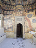 Sinaia Monastery. The Old Church of Sinaia Monastery, in Sinaia, Prahova County, Romania. The Sinaia Monastery was founded by Prince Mihail Cantacuzino in 1695 stock photos