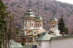 Sinaia Monastery. Prahova county, Romania stock photo