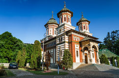 Sinaia Monastery, Romania Stock Photo