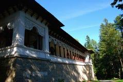 Sinaia Monastery in Romania. Exterior of one of the buildings of Sinaia Monastery in Romania stock photos