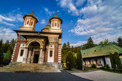 Sinaia Monastery Romania Royalty Free Stock Photo