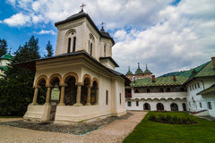 Sinaia Monastery Romania Royalty Free Stock Photography