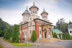 The Sinaia Monastery in Sinaia. Transylvania. Romania. The Great Church at the Sinaia Monastery in Sinaia. Transylvania. Romania stock photography