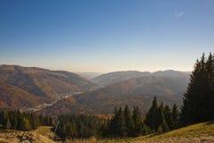 Sinaia mountain resort view Stock Photography