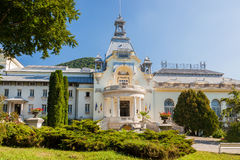Sinaia, Romania. Front view of the Casino from Sinaia, Romania stock photos