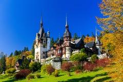 Sinaia, Romania. Peles castle in Muntenia region, Romania. Sinaia, Prahova county Royalty Free Stock Images