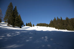 Sinaia sky track Stock Images