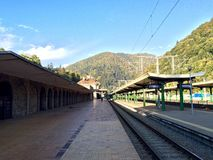 Sinaia Train Station Royalty Free Stock Image