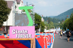 Sinaia voor altijd 2015 Stock Foto's