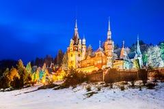 sinaia zamek peles Romania Zdjęcia Royalty Free