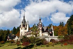 sinaia zamek peles Romania Zdjęcia Stock