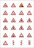 Sinais & indicadores de estrada Fotos de Stock