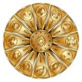 Sinais astrológicos do zodíaco Imagens de Stock Royalty Free