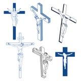 Sinais cristãos Imagens de Stock Royalty Free