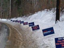 Sinais da campanha de John Edwards Fotos de Stock