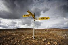 Sinais da estrada Fotografia de Stock