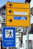 Sinais de estrada Imagem de Stock