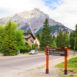 Sinais de estrada das férias Fotografia de Stock Royalty Free