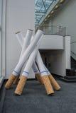 Sinais de fumo Imagens de Stock